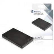 "König 2.5"" SATA hard disk enclosure"
