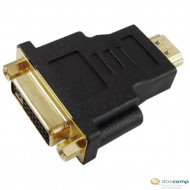AKYGA Adapter AK-AD-02 DVI-F/HDMI-M The cable plug #1Female connector DVI 24+5 Dual Link The cable plug, #2Male connector HDMI, Plated plugs - golden Material ABS, color Black AK-AD-02