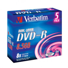 Verbatim DVD+R 8.5GB 8X Doublelayer DVD lemez