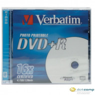 Verbatim DVD-R 4.7GB 16x nyomtatható DVD lemez