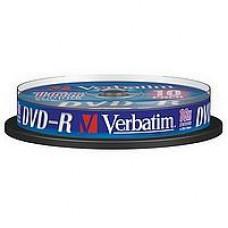 Verbatim DVD-R 4.7GB 16x hengeres DVD lemez 10db/cs