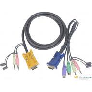 ATEN KVM Console kábel PS/2 3m /2L-5303P/