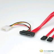 Roline SAS adat+táp kábel 0.5m /11.03.1065/