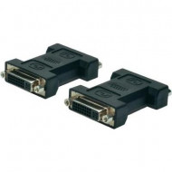 ASSMANN DVI-I DualLink Adapter DVI-I (24+5) F (jack)/DVI-I (24+5) F (jack) black AK-320503-000-S