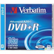 Verbatim DVD+R 4.7GB 16x nyomtatható DVD lemez