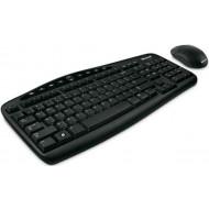 Microsoft Optical Desktop 600 USB magyar billentyűzet + egér fekete