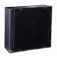 ESPERANZA Slim Box Black 5,2 mm for CD/DVD ( 10 Pcs. PACK) 3024 - 5905784760964