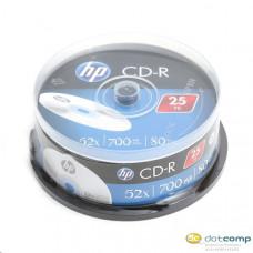 HP 80'/700MB 52x CD lemez hengeres 25db/henger