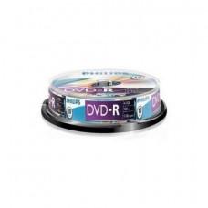 DVD lemez Philips 4,7GB -R 10lemez/henger