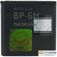 Nokia BP-6M 1070mAh Li-ion akkumulátor /gyári,csomagolás nélkül/