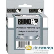 """DYMO """"Rhino"""" Feliratozógép szalag poliészter 12 mm fémes /18486/"""