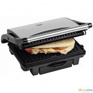 Bestron ASW113S rozsdamentes acélból készült panini sütő