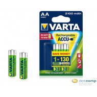 Varta Ready To Use AA Ni-Mh 2100 mAh ceruza akku (2db/csomag)