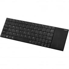 Rapoo E2710 vezeték nélküli billentyűzet+Touchpad fekete /157233/