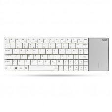 Rapoo E2710 vezeték nélküli billentyűzet+Touchpad fehér /157234/