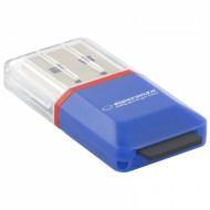 ESPERANZA USB2.0 microSD kártyaolvasó (kék) EA134B