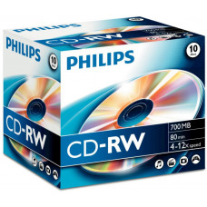 Philips CD-RW 700MB Normal Hi-speed 12x (1-es címke)