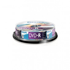 PHILIPS DVD Lemez -R 4.7GB 10db/Henger DPHMC10