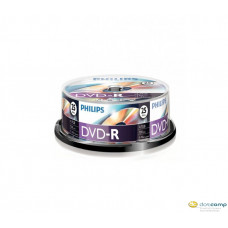 Philips DVD-R 4.7GB 16X DVD lemez hengeres 25db/cs