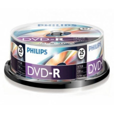 Philips DVD-R47IW*25 nyomtatható cake-box 16x csomag