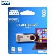 GOODRAM/TOSHIBA Pendrive/USB Stick TWISTER (2.0) 8 GB UTS2-0080K0R11 63777