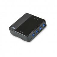 ATEN USB Periféria Megosztó USB3.0 4PC/4eszköz US434