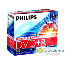 Philips DVD+R 8.5GB 8X Doublelayer DVD lemez