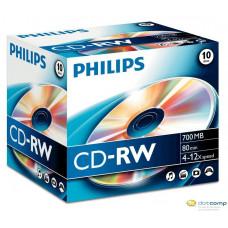 Philips CD-RW 80'/700MB újraírható lemez