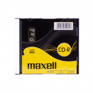 Maxell 80'/700MB 52x Slim CD lemez darabos