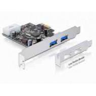 Multi I/O PCIE 2xUSB 3.0 Delock 89241