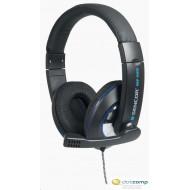 Sencor SEP 629 Prémium fejhallgató, beépített mikrofonnal fekete