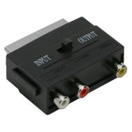 KA-Scart-RCA átalakító