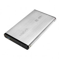 "LOGILINK 2,5"" SATA USB 3.0 Aluminium Silver"