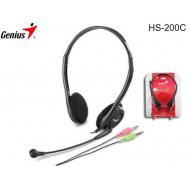 GENIUS HS-200C Headset Headset.2.0.3.5mm.Mikrofon