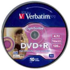 VERBATIM DVD+R 8.5Gb 10db/henger