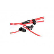 MEDIA-TECH MT3556R - MAGICSOUND DS-2 Headset Red Headset.2.0.3.5mm.Kábel:1.2m.18Ohm.20-20000Hz.Mikrofon.Red