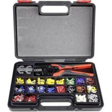 Roppantó fogó készlet,  0.5 - 16 mm²,  439 részes, Toolcraft