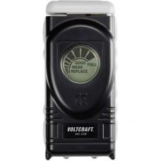 Digitális elemteszter 1,5 V, 1,55 V, 9 V-os elemekhez, VOLTCRAFT MS228