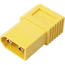 Akku csatlakozó adapter, XT60 - EC3, Reely