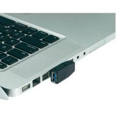 USB 3.0 adapter, A dugóról A aljra, 90°-ban oldalt balra hajlított Renkforce