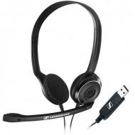 SENNHEISER PC 8 USB Headset Headset.2.0.USB.Kábel:2m.32Ohm.90 - 15000Hz.Mikrofon