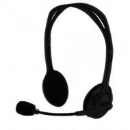 SilverLine HS-11V mikrofonos fejhallgató hangerőszabályzóval