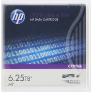 HP Adatkazetta Ultrium LTO-6 6,25TB RW HP LTO-6 Ultrium 6.25TB MP RW Data Cartridge,  6,25 TB Compressed 2,5:1 Supported, Read Speed: 400 MB/sec,  HP C7976A