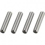 Reely Felni tartó tengely, 2 x 9,8 mm Ezüst (PINR20X98)
