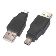 Noname USB- mini USB 5 pin. adapter