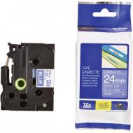 Feliratozó szalag Brother TZe-555 Szalagszín: Kék Szövegszín:Fehér 24 mm 8 m TZE555