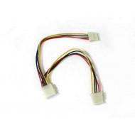 4World molex tápkábel elosztó /06124/