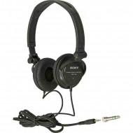 Sony MDR-V150 fejhallgató Black Fejhallgató,2.0,3.5mm,Kábel:2m,24Ohm,16-22000Hz,Black,lásd részletek