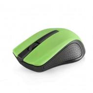 Modecom MC-WM9 Wireless Black/Green Optikai,Cordless,USB,Black/Green,1200DPI