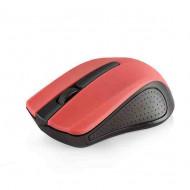 Modecom MC-WM9 Wireless Black/Red Optikai,Cordless,USB,Black/Red,1200DPI